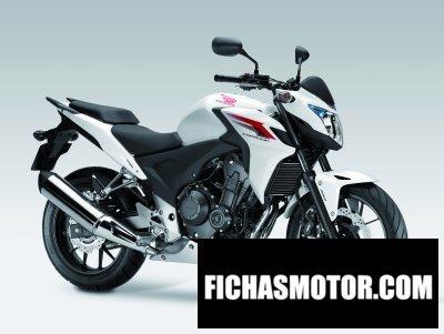 Ficha técnica Honda cb500f 2014