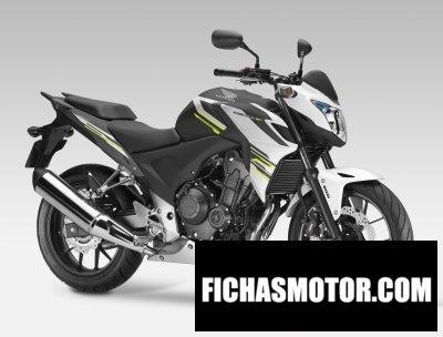 Imagen moto Honda cb500f año 2015