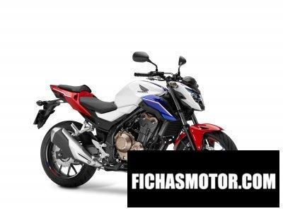 Imagen moto Honda cb500f año 2016