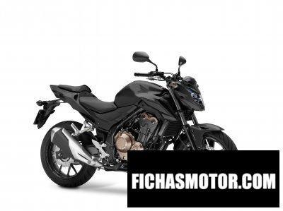 Imagen moto Honda cb500f año 2017