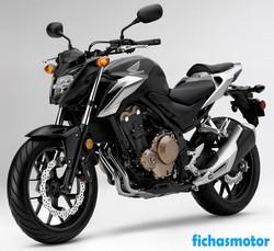 Imagen moto Honda cb500f 2018