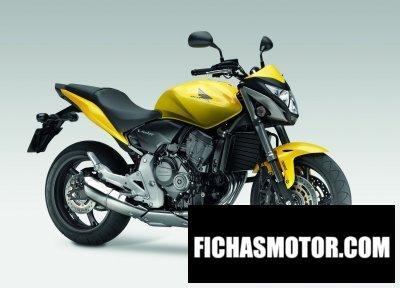 Ficha técnica Honda cb600f 2011