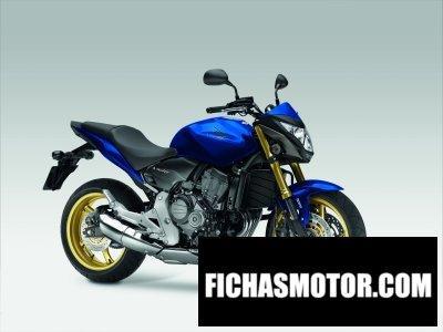 Ficha técnica Honda cb600f hornet 2012