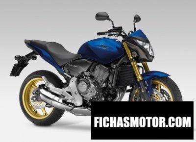 Ficha técnica Honda cb600f hornet 600 2013