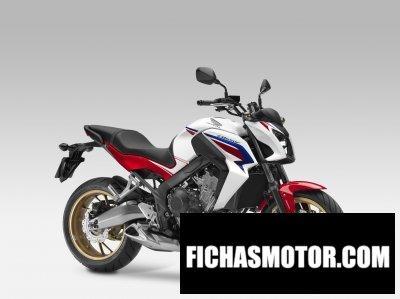 Ficha técnica Honda cb650f 2014