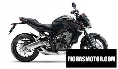Imagen moto Honda cb650f año 2015