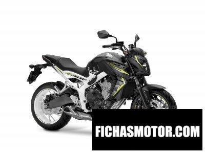 Imagen moto Honda cb650f año 2016