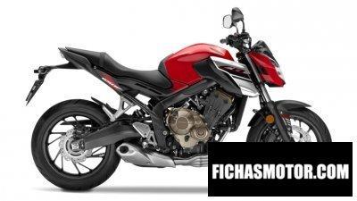 Imagen moto Honda cb650f año 2018