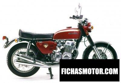 Ficha técnica Honda cb750 1969