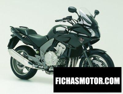 Imagen moto Honda cbf 1000 f abs año 2007