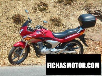 Imagen moto Honda cbf 150m año 2007