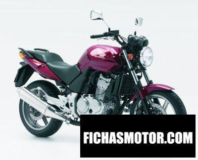 Imagen moto Honda cbf 500 año 2007