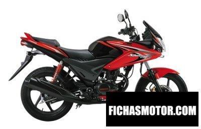 Imagen moto Honda cbf stunner año 2013