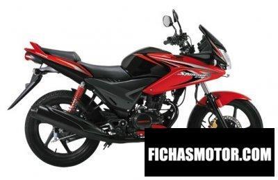Imagen moto Honda cbf stunner año 2014