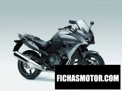 Imagen moto Honda cbf1000 año 2012