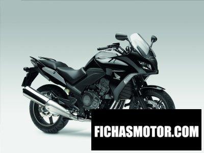 Imagen moto Honda cbf1000 abs año 2010