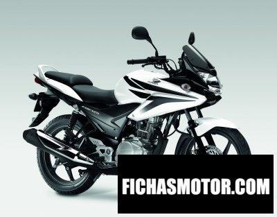 Ficha técnica Honda cbf125 2011