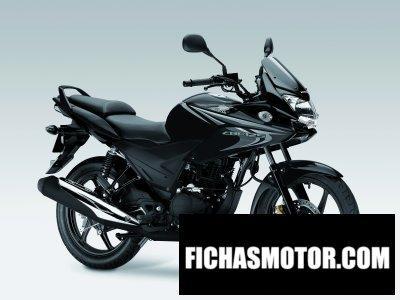 Imagen moto Honda cbf125 año 2013