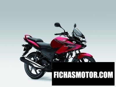 Ficha técnica Honda cbf125 2014