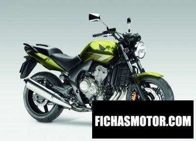 Ficha técnica Honda cbf600n 2010