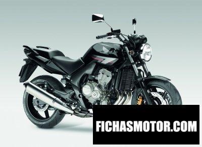 Ficha técnica Honda cbf600n abs 2011