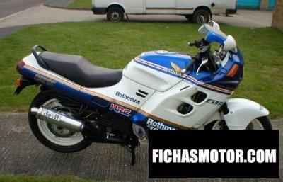 Ficha técnica Honda cbr 1000 f 1987