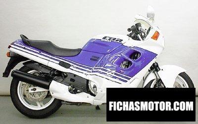 Ficha técnica Honda cbr 1000 f 1988
