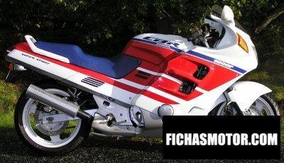 Imagen moto Honda cbr 1000 f año 1989