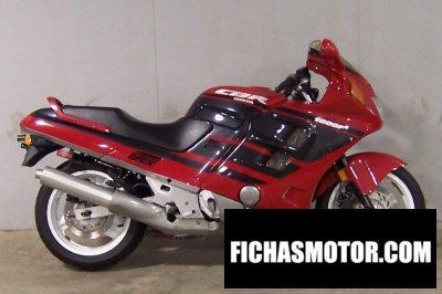 Ficha técnica Honda cbr 1000 f 1991