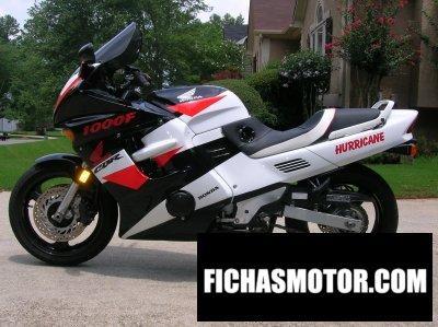 Imagen moto Honda cbr 1000 f año 1994