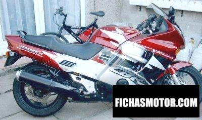 Imagen moto Honda cbr 1000 f año 1998