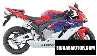 Ficha técnica Honda cbr 1000 rr 2005