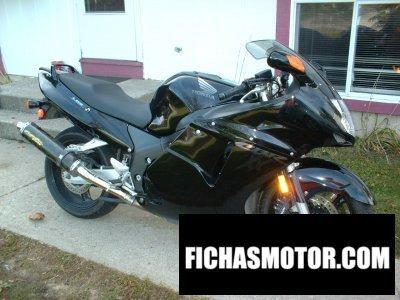 Ficha técnica Honda cbr 1100 xx super blackbird 1997