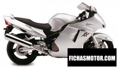 Ficha técnica Honda cbr 1100 xx super blackbird 2002
