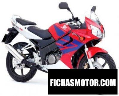 Ficha técnica Honda cbr 125 r 2005