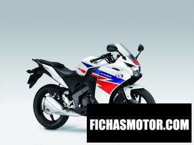 Ficha técnica Honda cbr 125r 2014