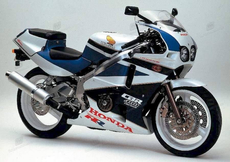 Ficha técnica Honda cbr 400 rr fireblade 1989