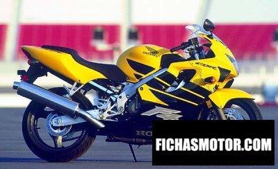Ficha técnica Honda cbr 600 f 1999