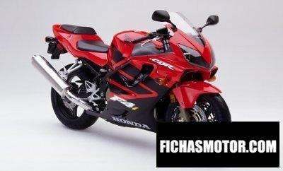 Imagen moto Honda cbr 600 f año 2001