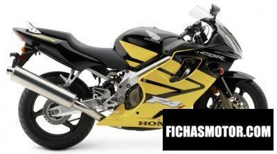 Imagen moto Honda cbr 600 f4i año 2004