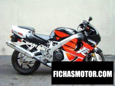 Ficha técnica Honda cbr 900 rr 1999