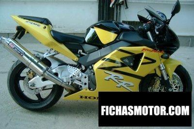 Ficha técnica Honda cbr 900 rr fireblade - 954 rr 2003