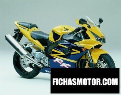 Ficha técnica Honda cbr 954 rr 2002