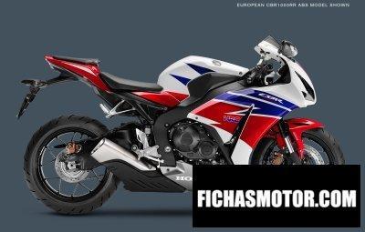 Ficha técnica Honda cbr1000rr 2015