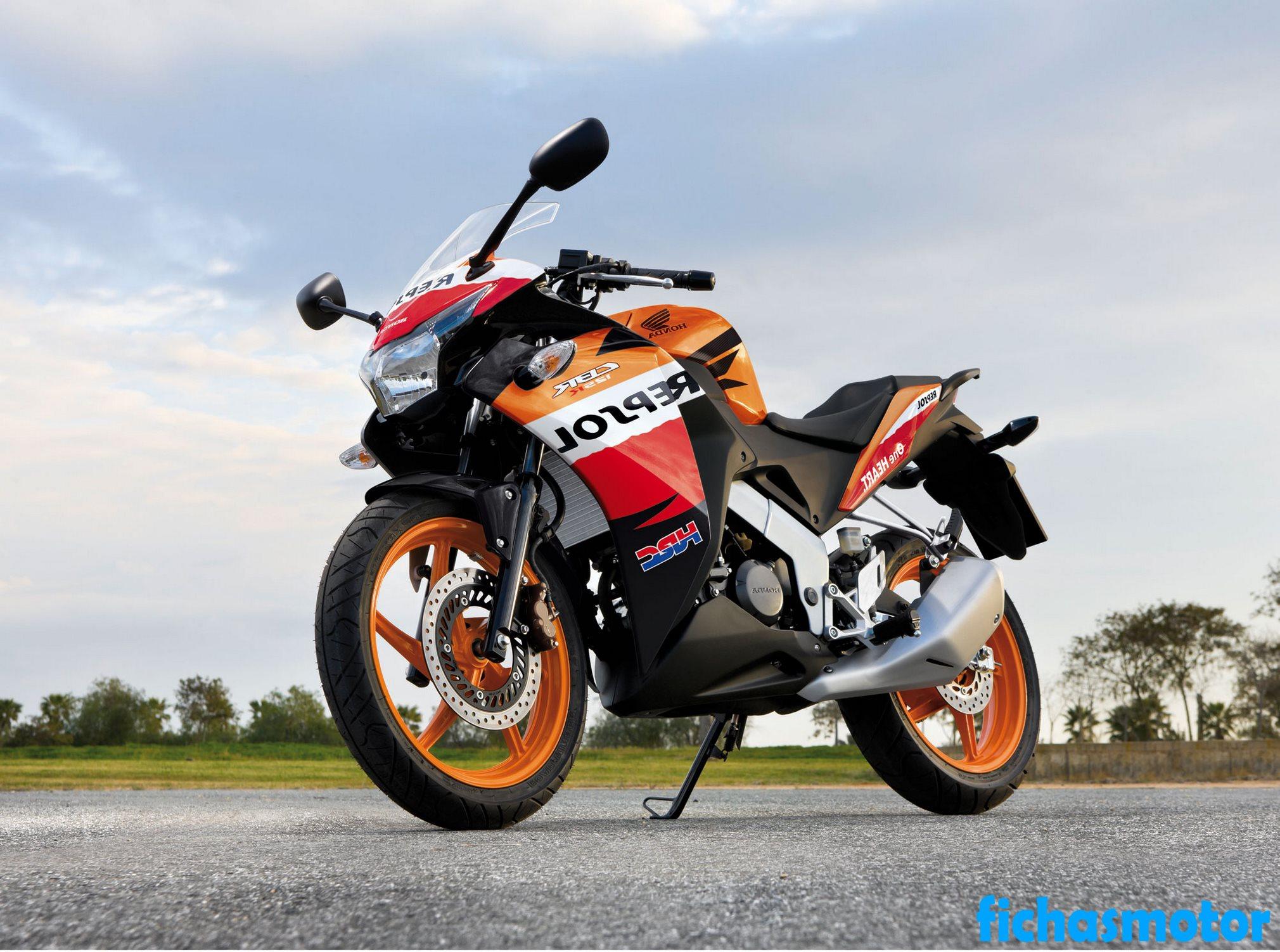 Imagen moto Honda cbr125r año 2012
