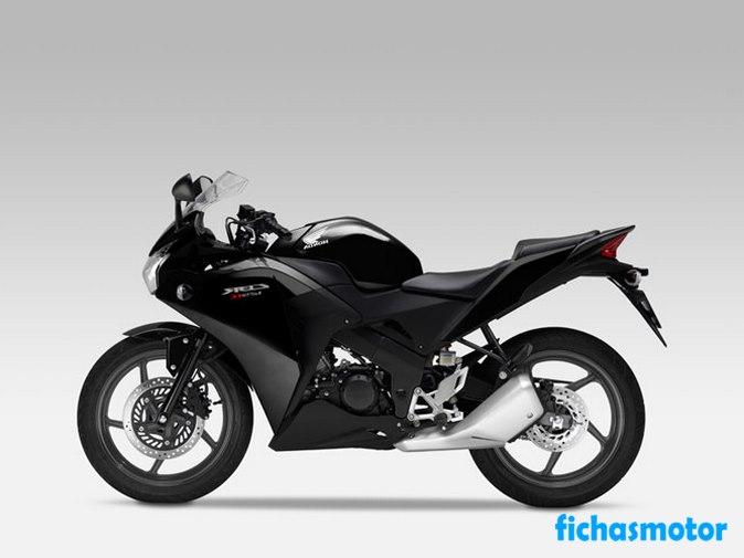 Imagen moto Honda cbr125r año 2015