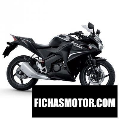 Imagen moto Honda cbr150r año 2014