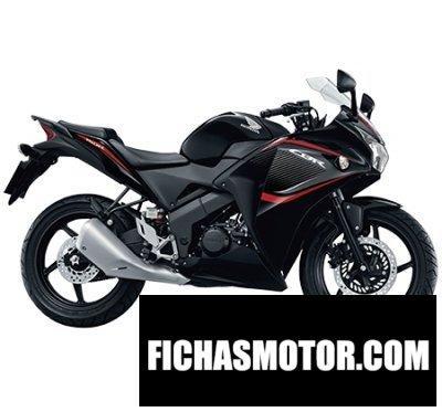 Imagen moto Honda cbr150r año 2015
