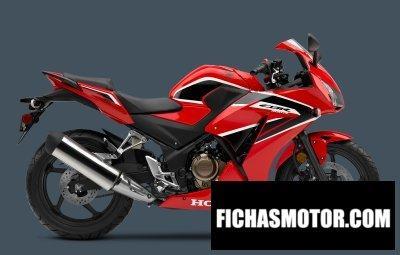 Imagen moto Honda cbr300r año 2017