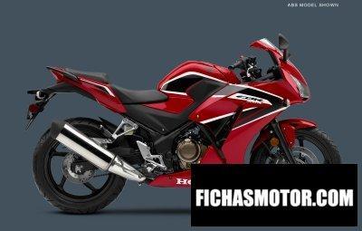 Imagen moto Honda cbr300r año 2018